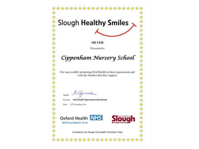 Slough Healthy Smiles Award